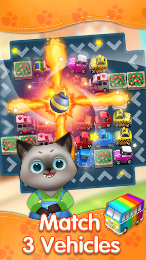 Cats Dreamland:  Free Match 3 Puzzle Game apkpoly screenshots 2