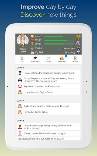 Life Simulator: Role Playing  screenshots 10