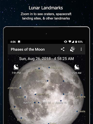 Phases of the Moon Calendar & Wallpaper Pro  screenshots 12