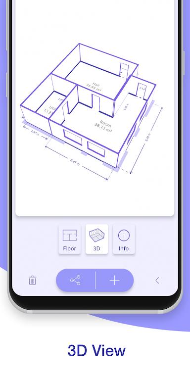 ARPlan 3D: Tape Measure, Ruler, Floor Plan Creator poster 3