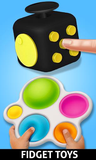 Anti stress fidgets 3D cubes - calming games  screenshots 5