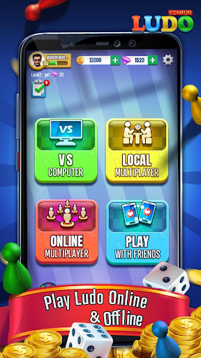 Ludo Comfun-Online Game Live Chat With Friends  screenshots 2