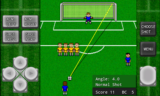 Gachinko Football: Free Kick  screenshots 7
