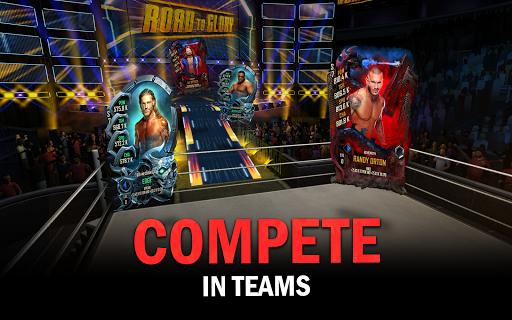 WWE SuperCard - Multiplayer Collector Card Game Apkfinish screenshots 18