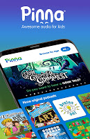 Pinna: Podcasts, Audio Books & Music for kids 3-12