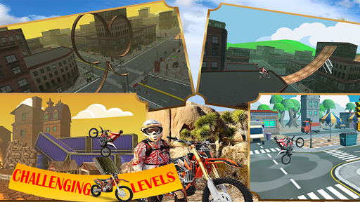 Motorcycle racing Stunt : Bike Stunt free game 2.1 screenshots 14