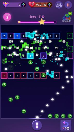 Neon Bricks Master 1.0.9 screenshots 1
