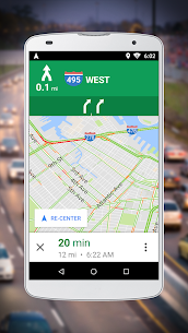 Navigation for Google Maps Go 3