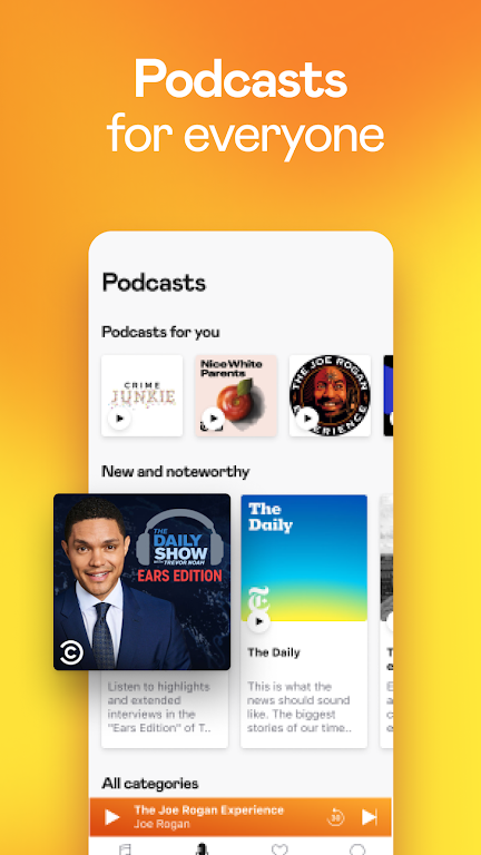 Deezer Music Player: Songs, Playlists & Podcasts  poster 5