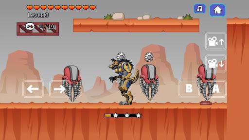 Robot Werewolf Toy Robot War 2.5 screenshots 4
