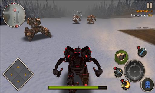 Code Triche Mech Legion: Age of Robots APK Mod screenshots 1