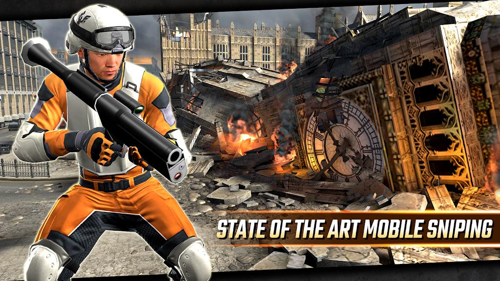 Sniper Strike APK Mod poster 13