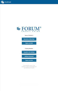 FORUM Credit Union CU Online