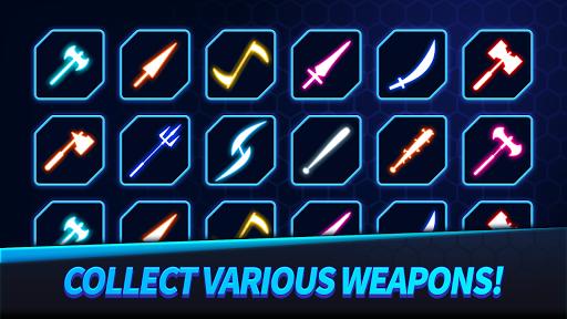 Ninja Slice Master : Stickman Neon Action  screenshots 3
