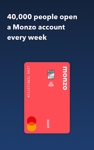 Monzo - Mobile Banking modavailable screenshots 1