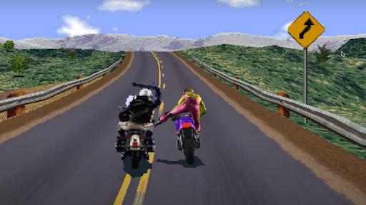 Road Rash like computer game 1.5 screenshots 2