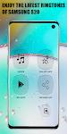 screenshot of New Galaxy S20 Plus Ringtones 2020 | Free
