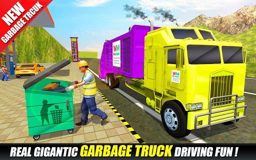 Offroad Garbage Truck: Dump Truck Driving Games 1.1.6 screenshots 3