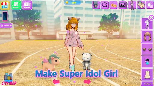 life idol Dress up 3d apkpoly screenshots 4