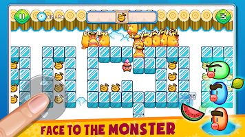 Fruit & Ice Cream - Ice cream war Maze Game