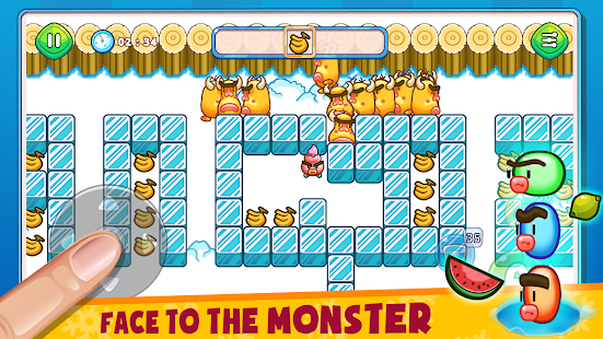 Fruit & Ice Cream - Ice cream war Maze Game 6.5 Screenshots 6