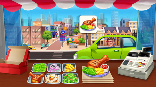 Crazy Chef: Food Truck Restaurant Cooking Game  screenshots 1