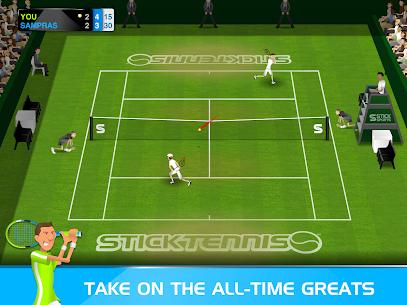 Stick Tennis MOD APK 2.9.3 (Unlocked Rackets) 7