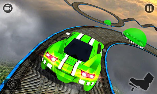 Impossible Stunt Car Tracks 3D modavailable screenshots 4