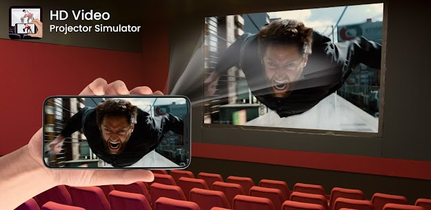 HD Video Projector Simulator Apk app for Android 2