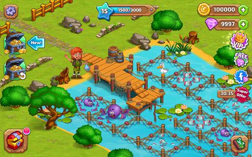 North Dragon Island - build Vikings Farm  screenshots 19
