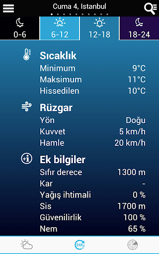 Weather for Turkey modavailable screenshots 12