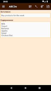 ABCDo To-do list 2.11 Android APK Mod 3