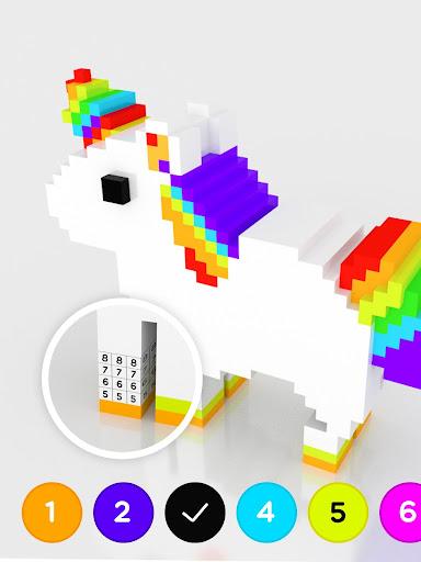 Number Coloring u2013 3D No.Draw screenshots 9