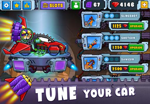 Car Eats Car 2 - Racing Game apktram screenshots 2