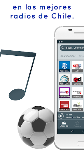 Radio Chile: Online Radio, FM Radio and AM Radio 2.3.63 screenshots 2