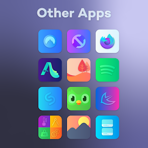 Gradient Icon Pack (MOD, Paid) v1.9 5