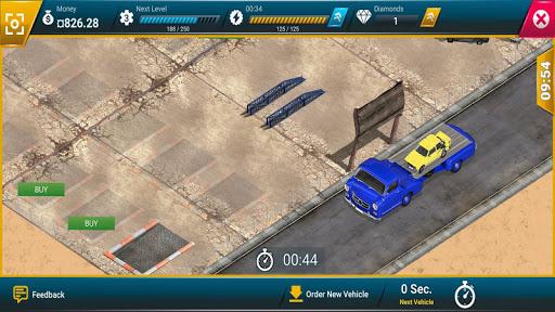 Junkyard Tycoon - Simulation d'affaires automobile APK MOD – Pièces Illimitées (Astuce) screenshots hack proof 2