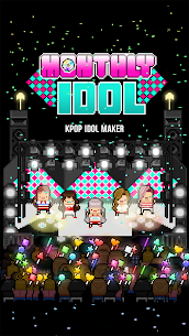 Monthly Idol APK MOD Hackeado (Dinero Ilimitado) 1