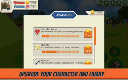 Cougar Simulator: Big Cat Family Game Apkfinish screenshots 10