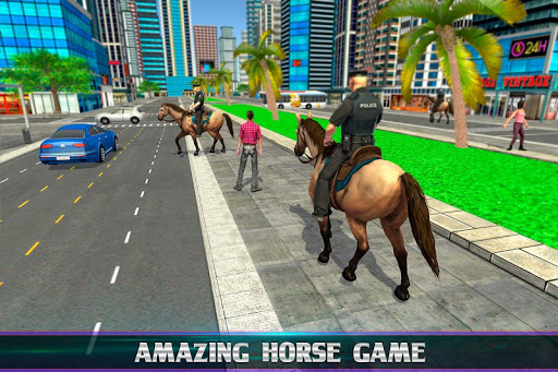 Mounted Police Horse Chase 3D 1.0 screenshots 4