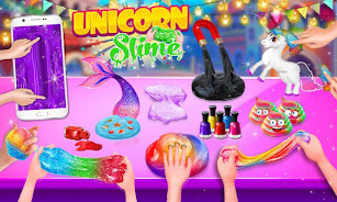 دانلود Unicorn Slime Maker and Simulator Oddly Satisfying اندروید