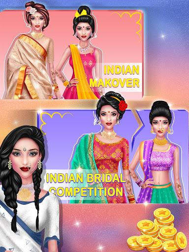 Wedding Fashion Stylist: Indian Dress up & Makeup 1.0 screenshots 7