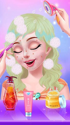 Télécharger Gratuit Maquillage De Célébrités - Partie De Thé De Mode mod apk screenshots 2