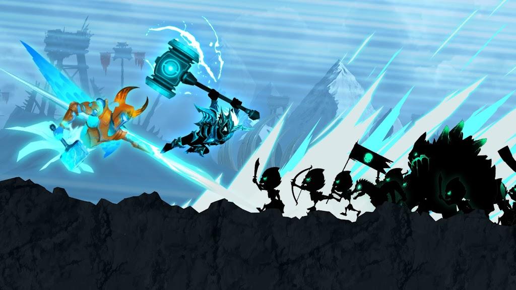 Stickman Legends: Shadow War Offline Fighting Game poster 11