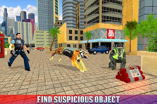Police Tiger Chase Simulator: City Crime Apkfinish screenshots 9