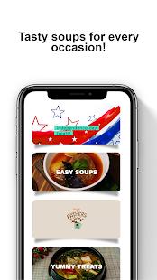 Soup Recipes - Soup Cookbook app 11.16.218 Screenshots 1