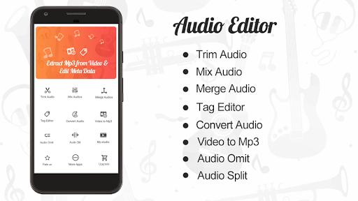 Audio Editor : Cut,Merge,Mix Extract Convert Audio 1.22 Screenshots 1