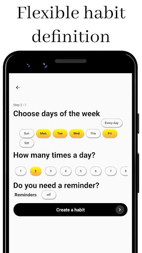 Habit Challenge - Build New Habits & Change Life modavailable screenshots 4
