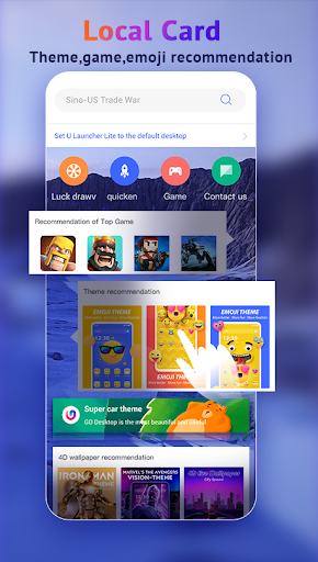 U Launcher Lite-New 3D Launcher 2020, Hide apps 2.2.40 Screenshots 3