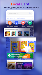 U Launcher Lite-New 3D Launcher 2020, Hide apps 3